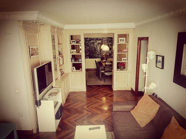 Bilbao Centro perfecto para familias. WIFI/ Garaje - Bilbo - Casa