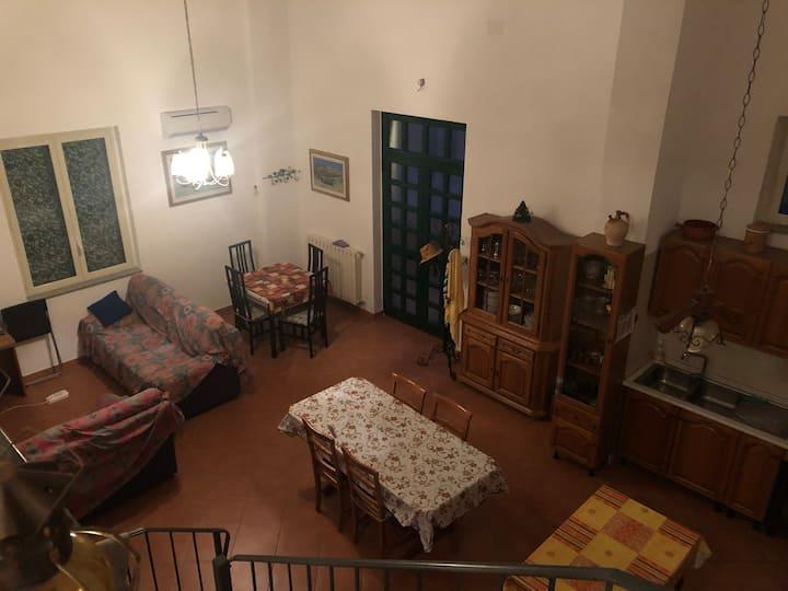 Ampio appartamento fronte mare