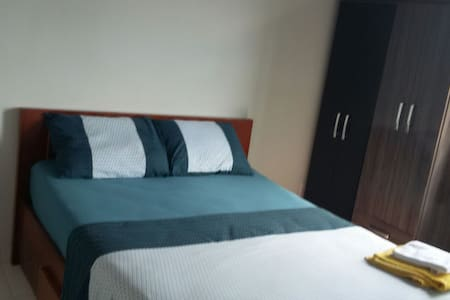 A bed/private room in city heart - São José - Wohnung