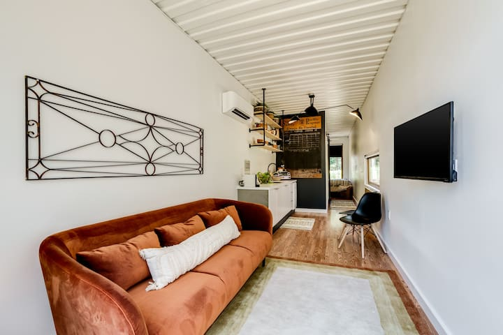 Tiny House With Industrial Modern Flare