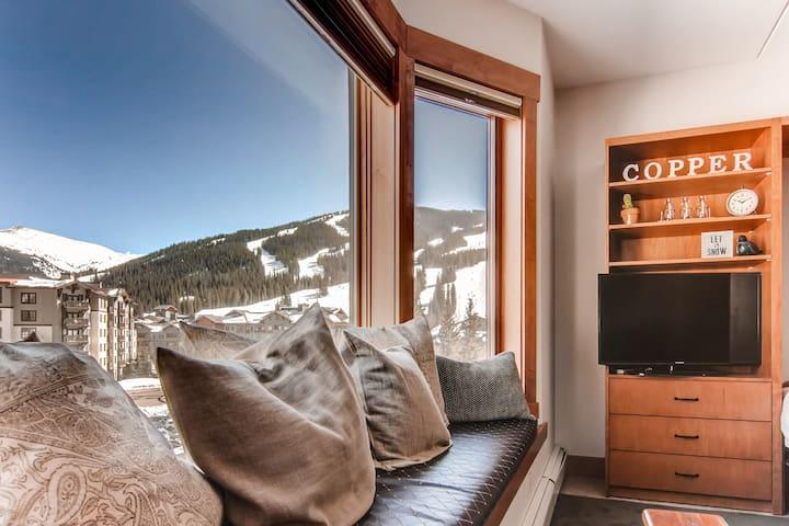 Amazing Views of the Ski area and Sky Chutes