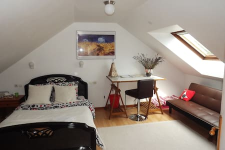 Spacious rooms in ecological house