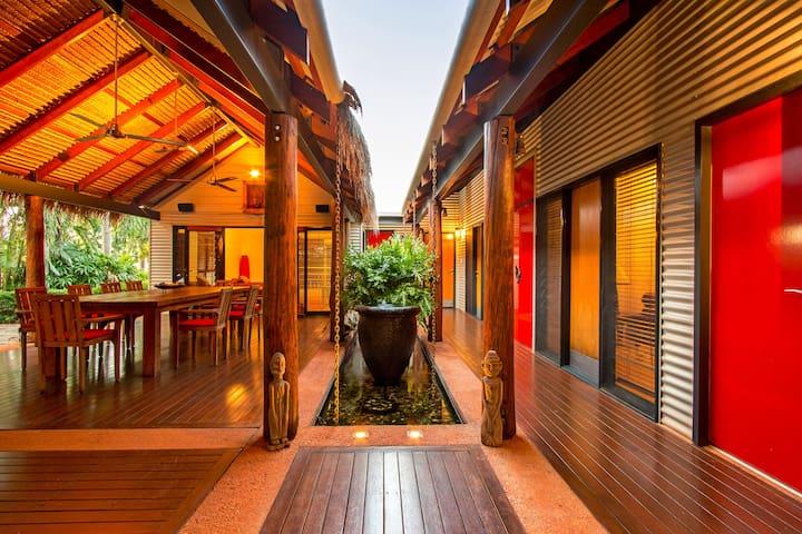 Sunset Park Tropical Retreat