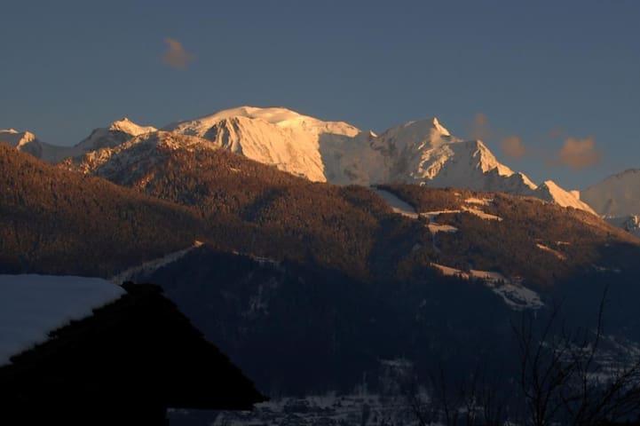 Appartement dans chalet au  Pays du Mont-Blanc
