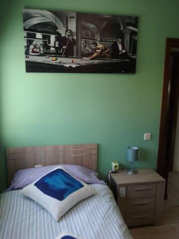 Dos habitaciones con baño privado en Siete Palmas