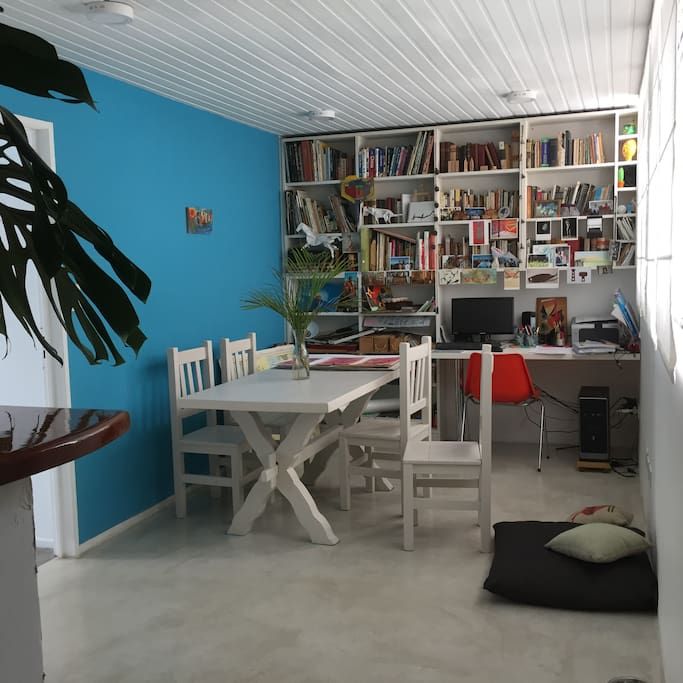 Working area, shared space