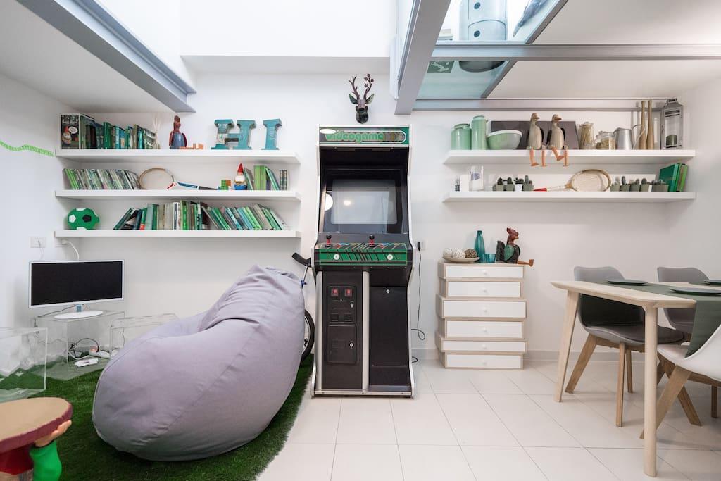 design house in the navigli area lofts zur miete in mailand lombardia italien. Black Bedroom Furniture Sets. Home Design Ideas