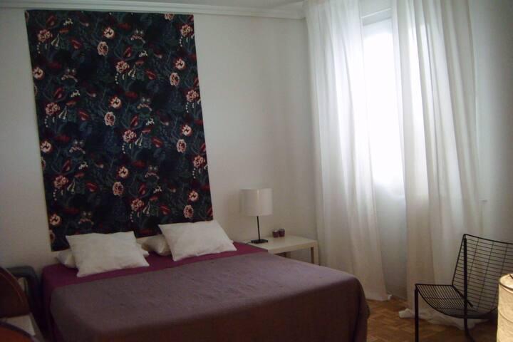 Esplendida habitación en Retiro ( Htal.G.Marañón)