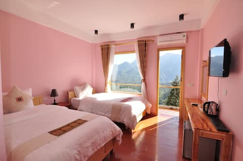 4-triple mountain view room