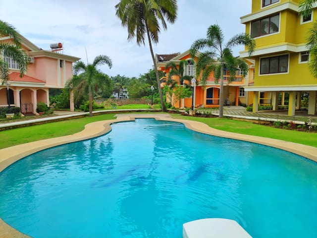 2BHK Apartment with a Nice View in Goa