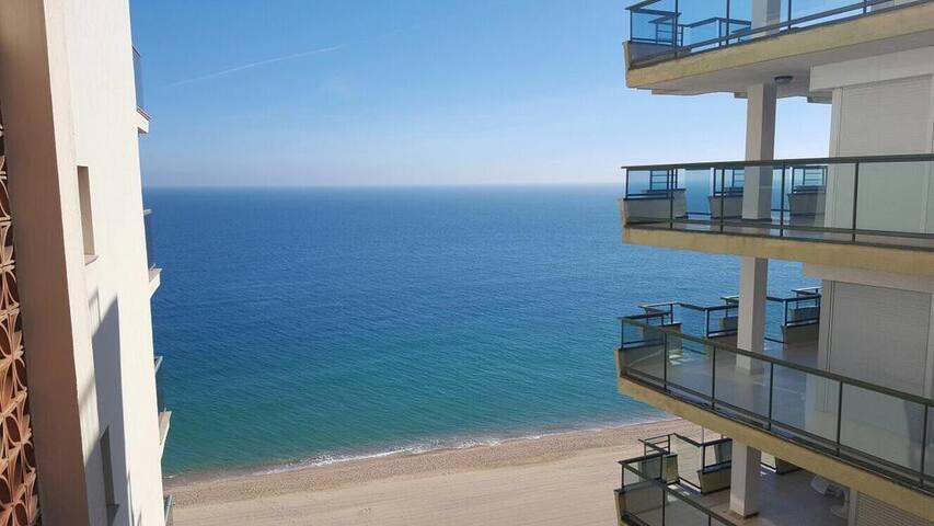 Apartamento con vistas al mar y parking Platja Aro