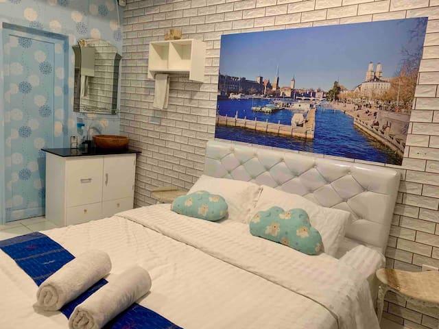 Awan Bellevue cozy apartement Bandung city