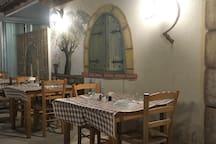 Landmark - a great local restaurant in Kiti around the corner
