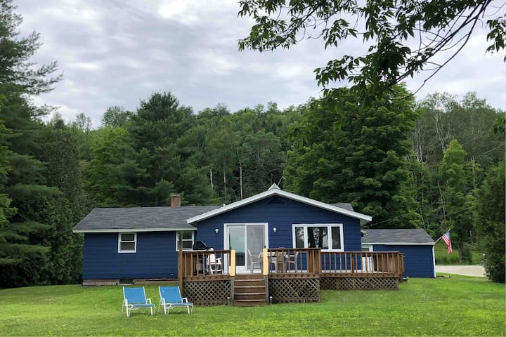 Blueberry Cottage: lovely lake view w/beach access