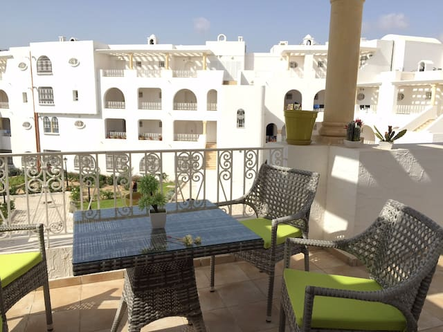 Sunny, friendly apartment in Yasmine Hammamet - Yasmine Hammamet
