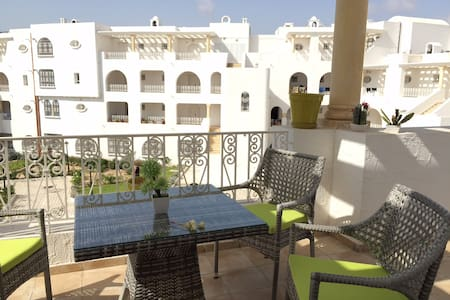 Sunny, friendly apartment in Yasmine Hammamet - Apartment