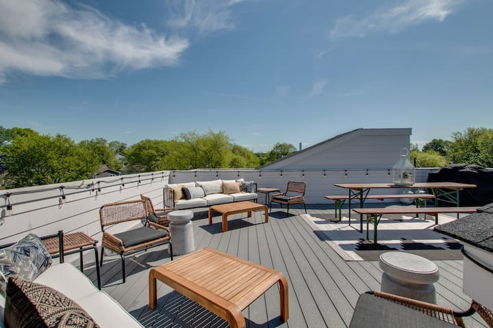 Bohemian Boutique C★3 Suites★Rooftop Deck★Walkable