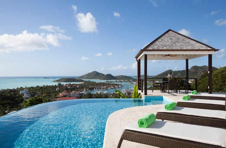 Jaw-dropping views from Villa Sea Glass