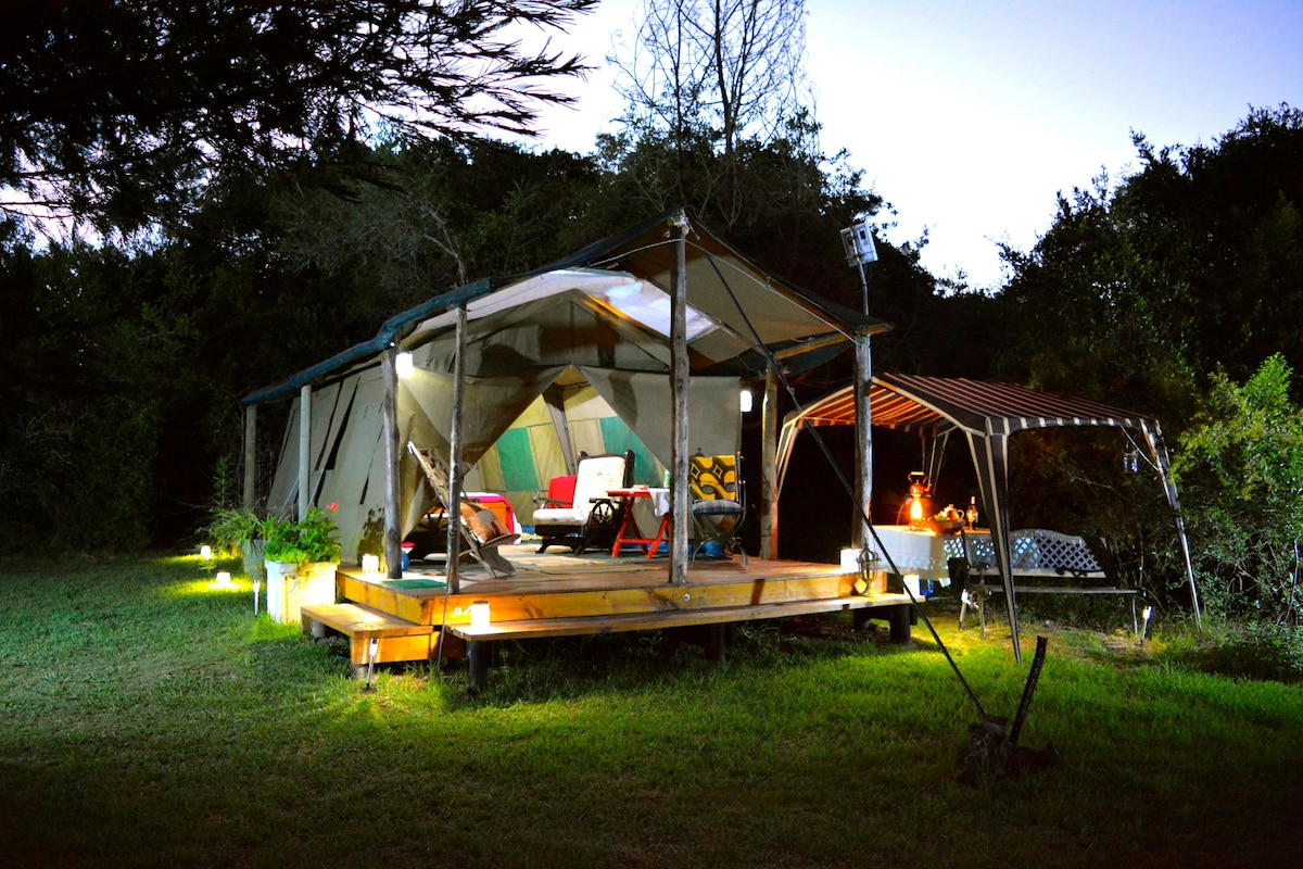 Forest Tent Brackenhills Mountain View Tent & BRACKENHILLS Private Nature Reserve - Tents for Rent in Heidelberg ...
