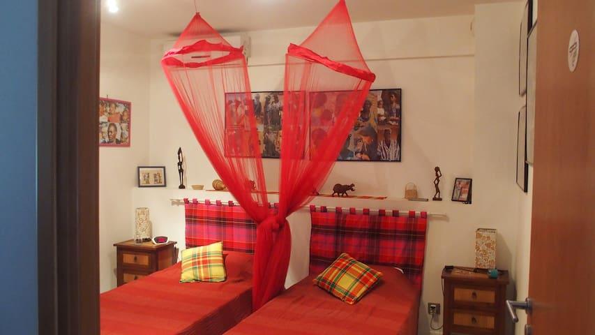 chambre Kaz Kreol décoration africaine