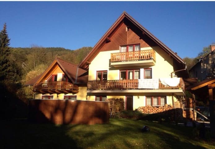 Apt for 6 persons with pool in Vrchlabi R4048