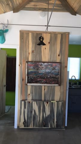 New art by local artist Tami Wood