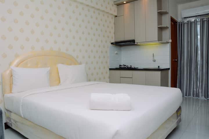 Relaxing and Comfy Studio Cinere Resort Apartment