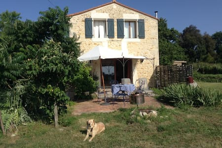 Huis met prachtig uitzicht - Saint-Bonnet-sur-Gironde - Hus
