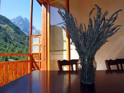 Apartment Belvédère-Beautiful view of the Pelvoux