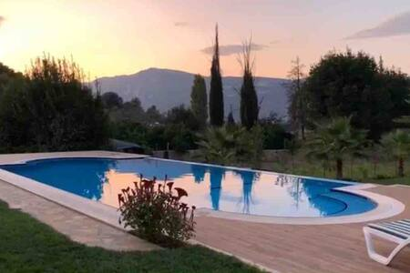 Secluded Luxury Modern Villa Near Akyaka, Muğla.