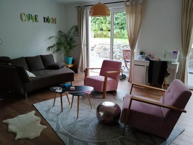 Stilvolle Wohnung mit Garten in OS-Widukindland