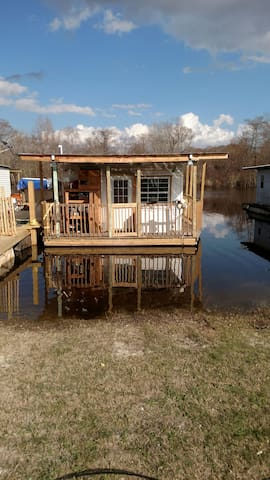 Houseboat (cabin) with kitchen/bath/bed - Henderson - Cabana