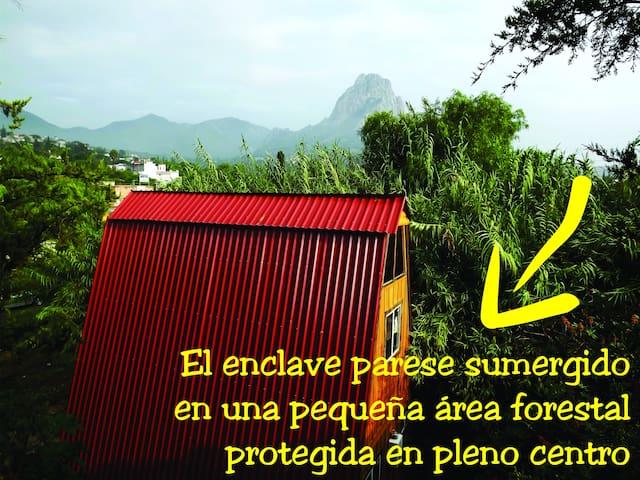Cabaña Alpina/SoloParejas/centropeñadebernal