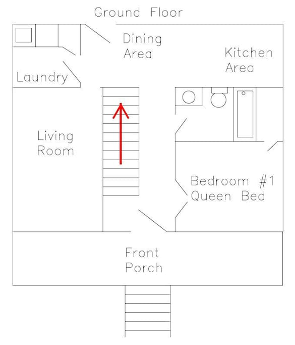 Downstairs Floorplan