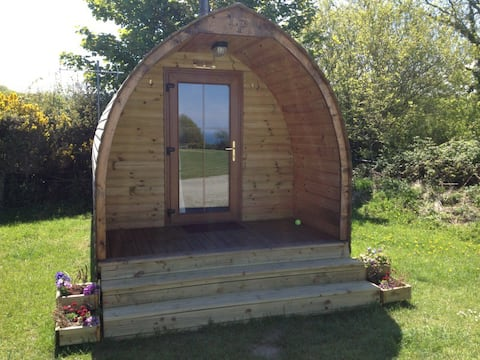 Glamping Pod - with dedicated toilet and shower