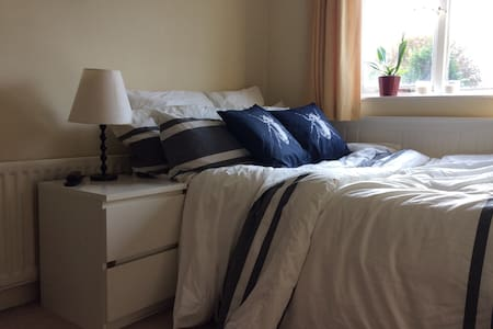Comfy double rooms in a lovely area  /back room - Bristol - Dům
