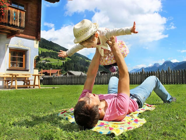 Family App: 3-5 Pers. Feriendorf Hochpustertal - Panzendorf - Tatil evi