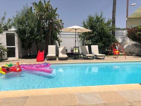 Кипр.Ларнака.4-сп.вилла с бассейном