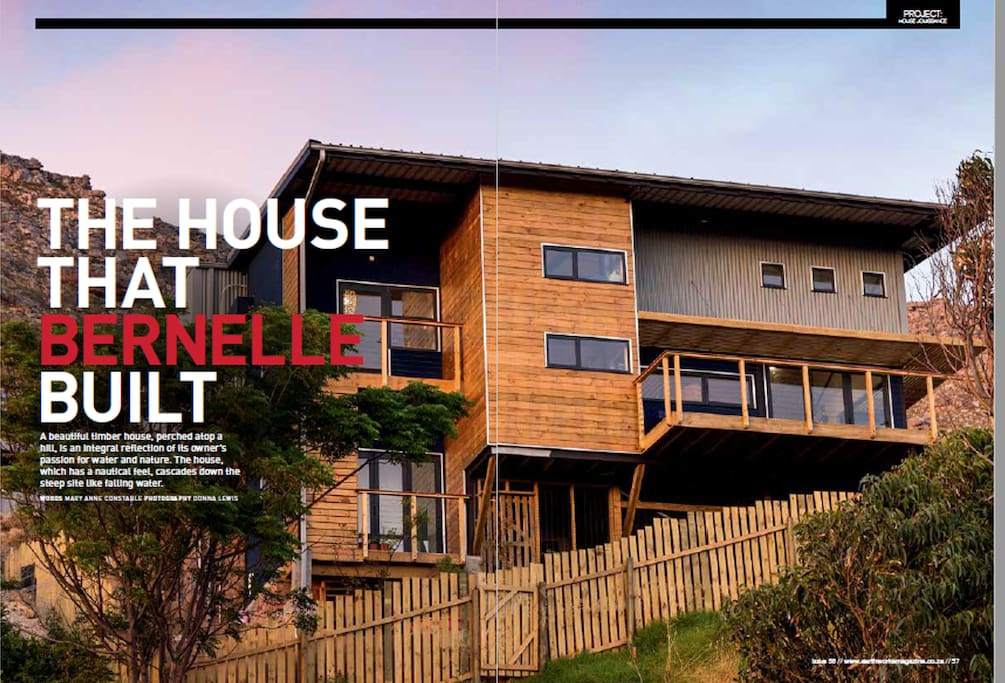 The front of the house (magazine snapshot)