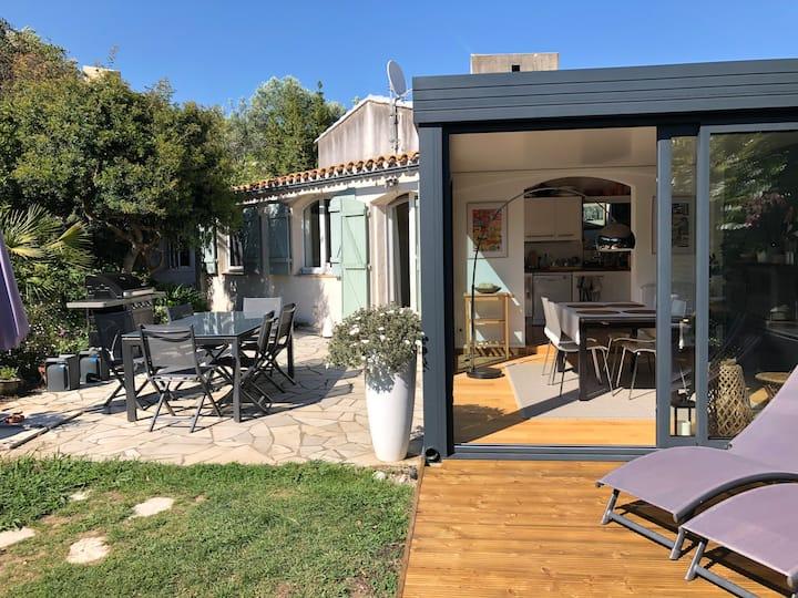 Côte d'Azur villa, jacuzzi privé, piscine, tennis