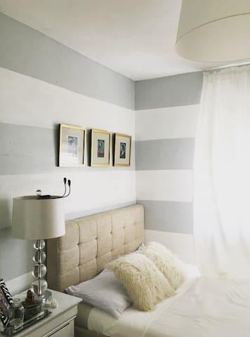 Cozy Centralized Bedroom