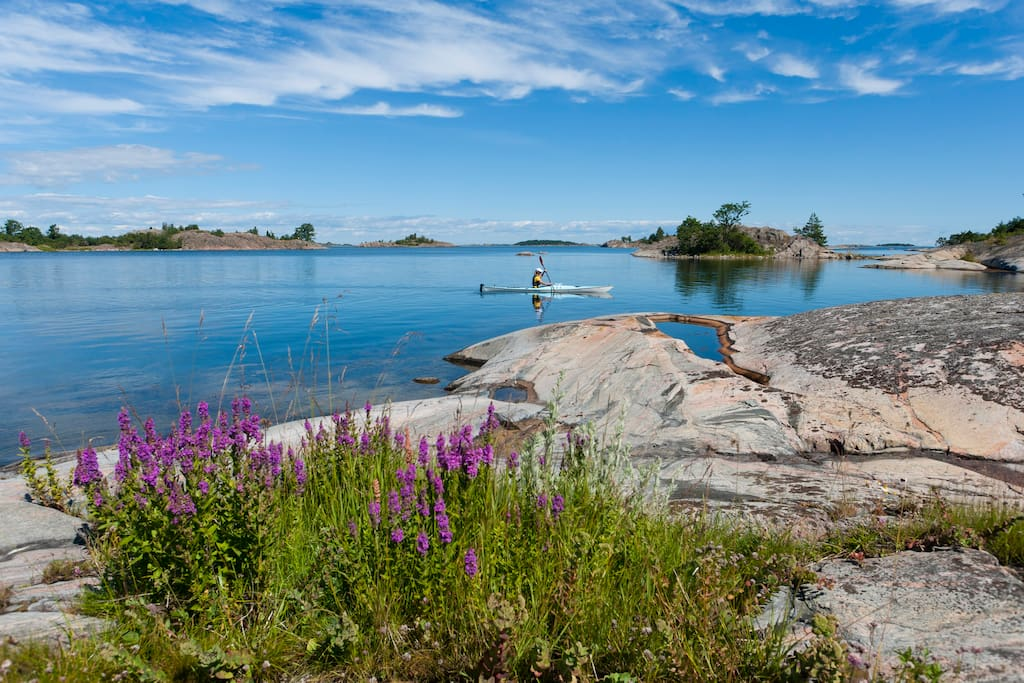 Archipelago of Stockholm, just a boatride away