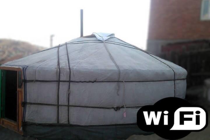 Yurt in Ulaanbaatar