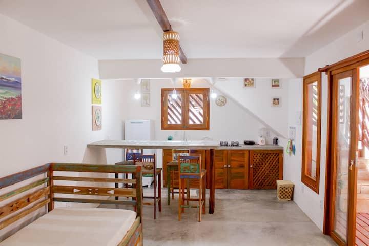 Mirella Apartamentos - Apto 2 pessoas térreo