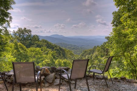 Heavenly Views in the Blue Ridge Mountains