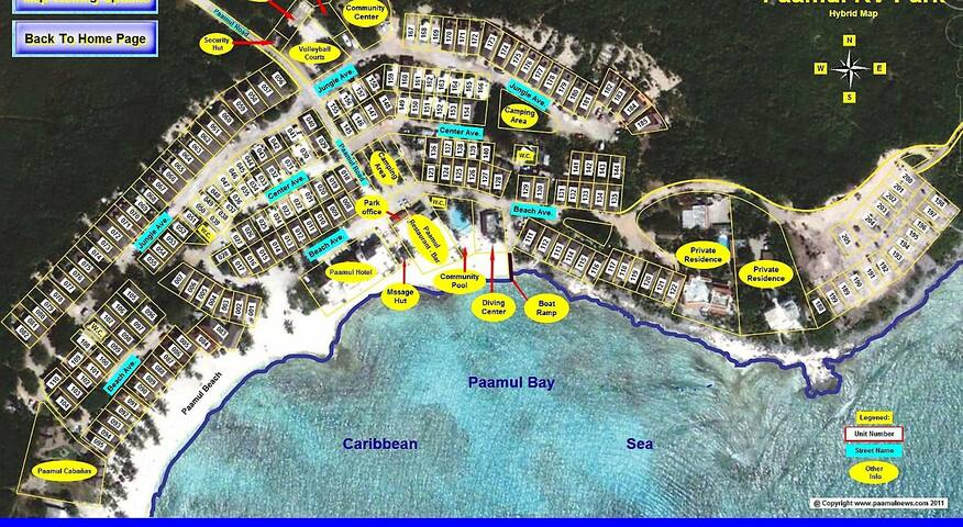 Palapa home 60 steps to beach - Puerto Aventuras - Lain-lain