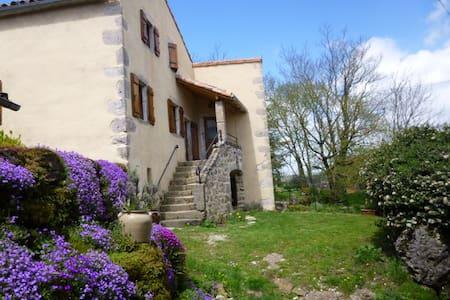 """Gite """" LES ORCHIS"""" Sud Larzac classé 3 Epis - Cornus - House"""