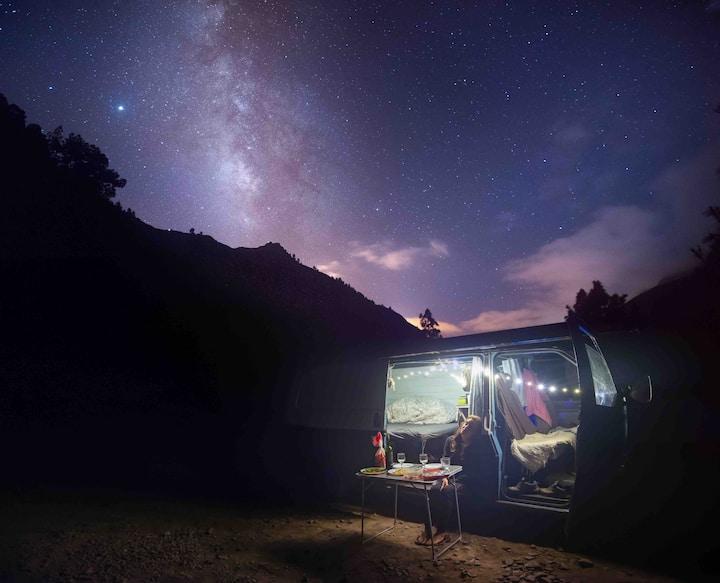 """ROSEWOOD"" Tenerife campervan"