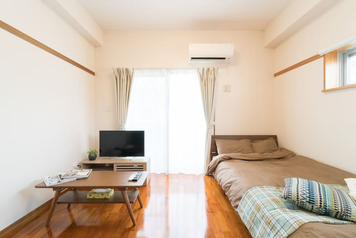 Casa303 Best place for sightseeing in Naha! 3F. - Naha-shi - Apartamento