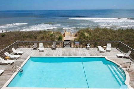 Renovated Two Bedroom/Two Bathroom with Ocean View - Kill Devil Hills